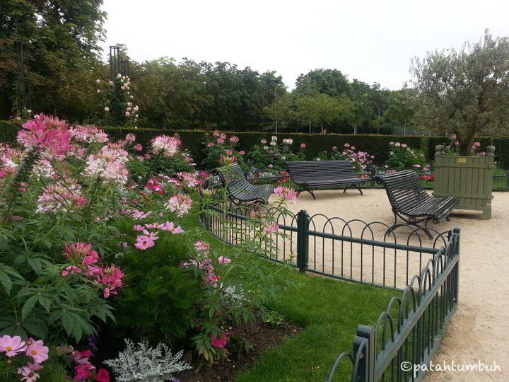 Enam hari di paris hari pertama patah tumbuh for Cafe jardin du luxembourg